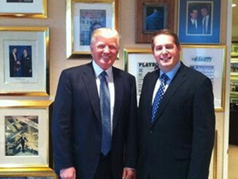 Meeting with Donald Trump at Trump Towers prior to the election.